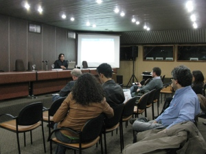 Presentación en Sala Dorada