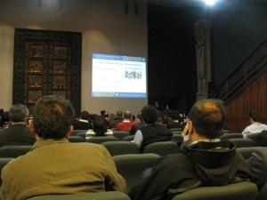 presentación en Sala Azul