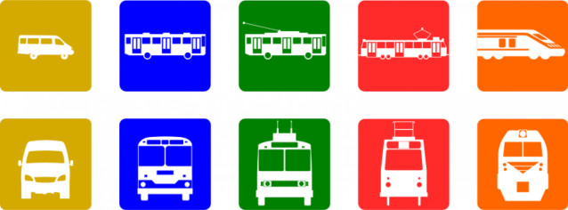 Icons-Public-transport