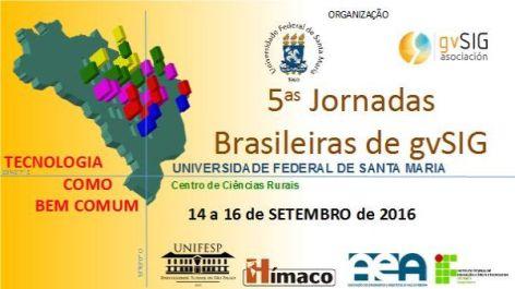 5as Jornadas Brasileiras gvSIG