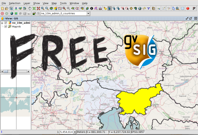 Learn gis for free module 2 working with views gvsig blog learn gis for free module 2 working with views gumiabroncs Image collections