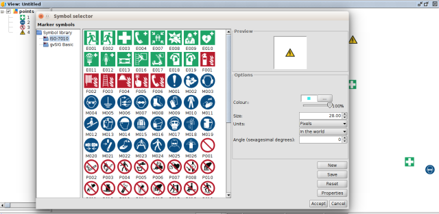 Towards Gvsig 24 Iso 7010 Symbol Library Safety Pictograms