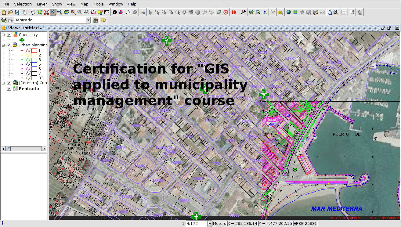GIS applied to municipality management: Certification and